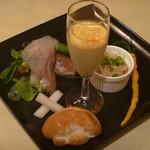 カフェ ホイアン - 本日の前菜プレート