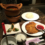 タイレストラン タニサラ - トムヤンクン+玉子炒めセット 税込1580円