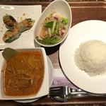 タイレストラン タニサラ - マッサマンカレーセット 税込1180円
