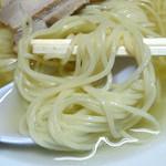 来来 - 「中華そば 並」中細のストレート麺