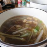 54226551 - 鳥つけ麺タレ(温かい)(2016年7月)