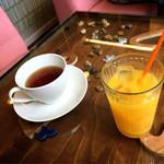 しまうまカフェ - ドリンク付き