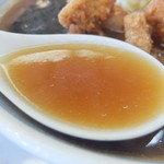 中華料理 来集軒 - スープ