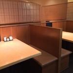 蕎麦酒房 本枯 - テーブル24席