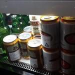 サイゴン・レストラン - レジの下は冷蔵庫