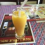 54232923 - チキンカレーセット・オレンジジュース