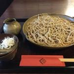 白州手打ち蕎麦 くぼ田 - 二八そば(780円)