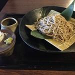 白州手打ち蕎麦 くぼ田 - 十割そば(980円)