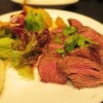 54234738 - コースの肉料理