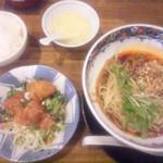 54236486 - 汁無し坦々麺ランチ・ザーサイ抜き(2016年7月)