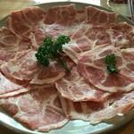 しゃぶ亭 こまち - ロース肉