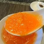 ホテルオークラレストラン 鉄板焼き さざんか - 蟹の卵もフカヒレもたっぷり( *´艸`)