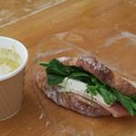 スズキ食堂車 - トウモロコシの冷たいスープと共に350円