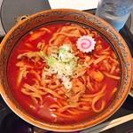 直志庵 さがの - 料理写真:旨辛うどん(1,100円)