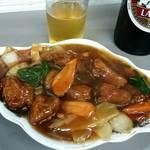 大養軒 - 酢豚ハーフ390円