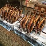 益田商店 元祖朽木屋 - 焼き鯖(2016.07現在)