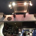 ダバ インディア - 厨房の辺り
