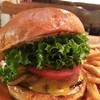 ジャクソンビル - 料理写真:プレミアムチーズバーガー