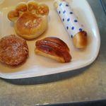 パン パティ アンソロジー - 購入した4種のパン