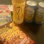 ホテルモントレ沖縄スパ&リゾート - ドリンク写真:夜の晩酌セット♪