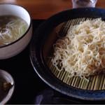 54246063 - 2016.7                       ワガママメニューのネギ塩つけ麺ヾ(@⌒ー⌒@)ノ