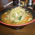 中野五郎 - 野菜たっぷり味噌ラーメン 670円