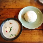タイ屋台料理&ヌードル オシャ - グリーンカレー