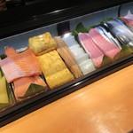 祇園寿司 - ネタケース♪