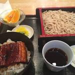町田や - うな丼セット(1,100円)