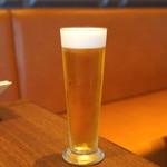 旬香亭 - 生ビール(キリン一番搾り)