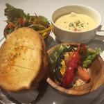 PARADISE CAFE MODERN - パスタランチの前菜