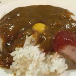 レストランいづみ - カレー掛け(+100円)