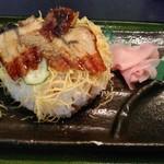 陽喜寿司 - うなぎちらし