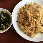 ポパイ ラーメンレストラン - 【2016.7.25】炒飯大盛り¥730