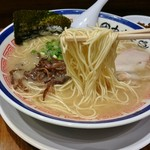 田中商店 - バリカタ(らーめん)
