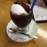 喫茶たくま - コーヒーフロート 480円 夏期限定