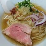 麺処 晴 - 塩そば(冷やし) 730円