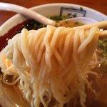 田舎食改革第1弾 嗚呼 隼 - これが太麺仕様です