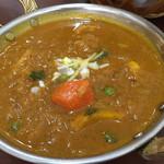 インドカレー ナマステ - Bランチ 野菜チキン