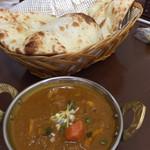 インドカレー ナマステ - Bランチ 野菜チキンかれー