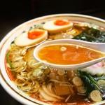 ストライク軒 - ストレート(スープ)