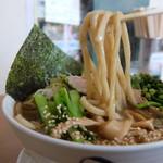 食い味の道有楽 - 麺リフト