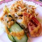 カリカ・インディアナレストラン - サラダ ドレッシング美味しい