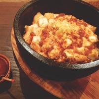 フーズフーズ - 燃える!石焼きしびれマーボー豆腐丼