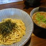 やま昇 - 辛つけ麺(ピリ辛・あつ盛り)(870円)