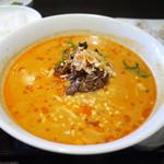 恵比寿餃子 大豊記 - 特級厨師担々麺 1100円。