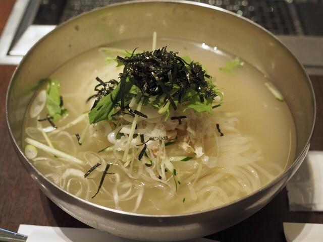牛兵衛 草庵 阪急西宮ガーデンズ店 - わさび冷麺
