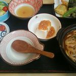 川市 - 味噌ミニ鍋ランチ972円(税込)