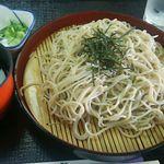 尾張温泉東海センター - 料理写真:ざるそば320円(税込) この価格で納得の旨さ。