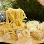 麺家 神明 - 麺リフト